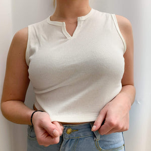 Westware High V Neck Crop