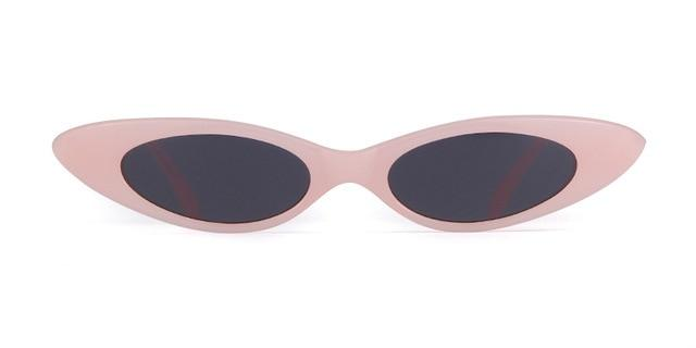 Westware pink / United States Oval Cateye Sunglasses