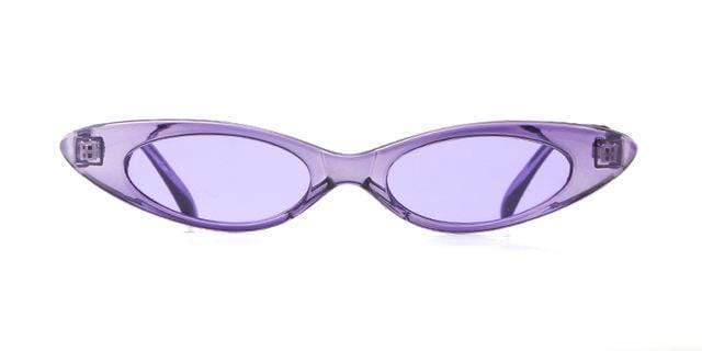 Westware PURPLE / United States Oval Cateye Sunglasses