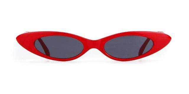 Westware red/gray / United States Oval Cateye Sunglasses