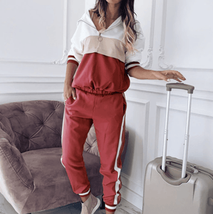 Westware Red / United States / L Swish Swish Bish Tracksuit