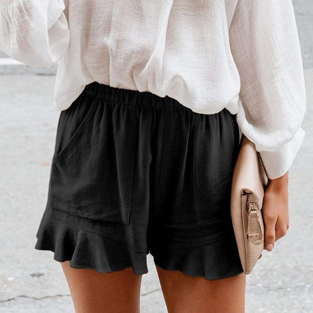 Westware Ruffle Edge Shorts