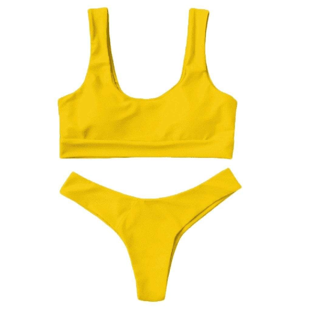 Westware Sporty Thong Bikini Set