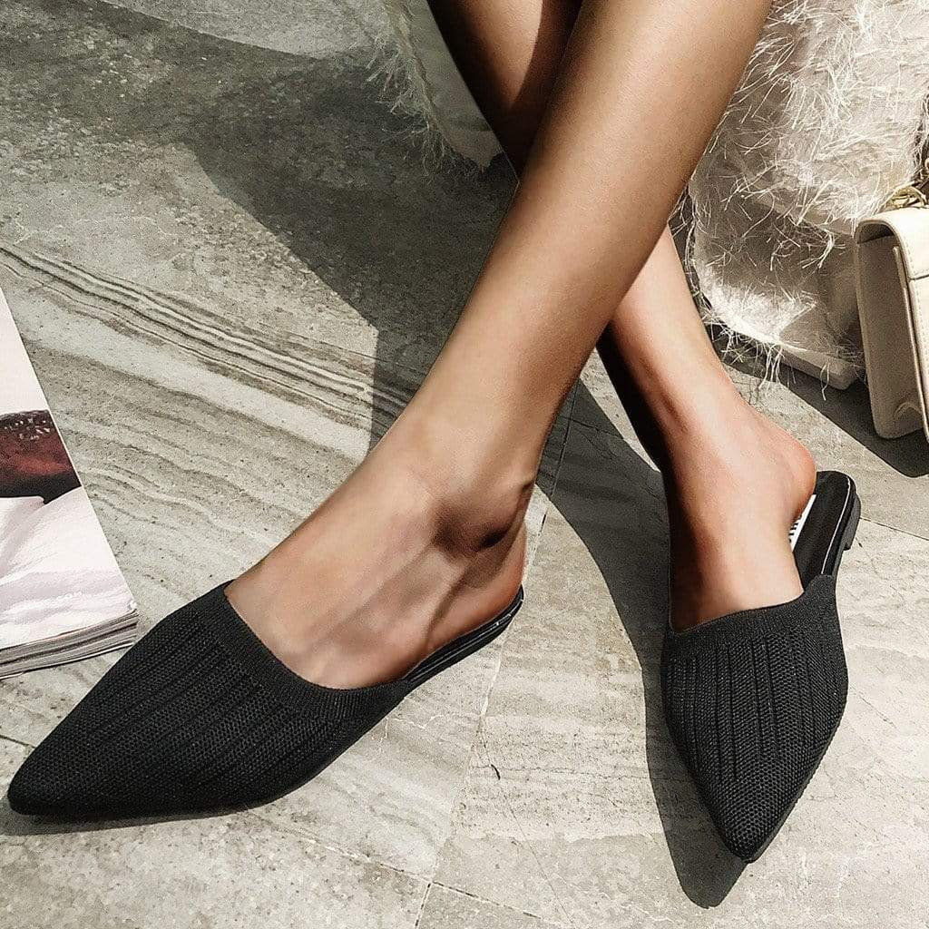 Westware Stocking Knit Mules