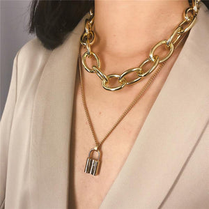 Westware Under Lock and Key Necklace