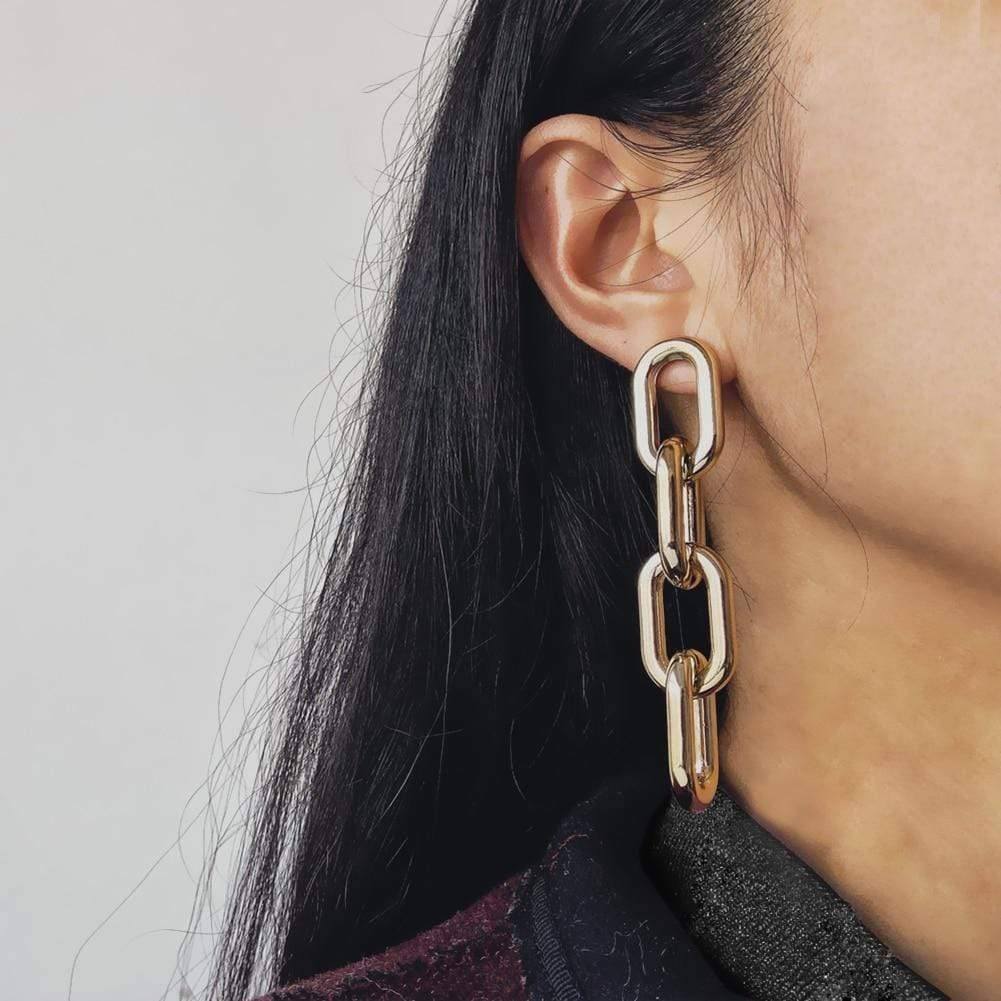 Westware United States Chain Link Earrings
