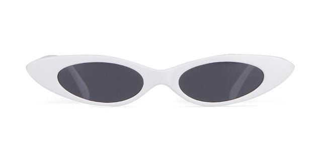Westware white/gray / United States Oval Cateye Sunglasses
