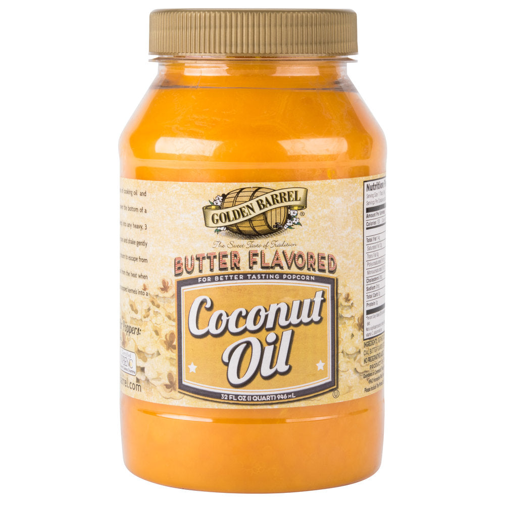 Butter Flavored Coconut Oil - Nutty World