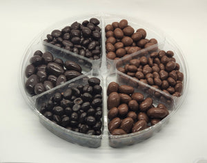 Chocolate Nuts & Fruits Gift Tray - Nutty World