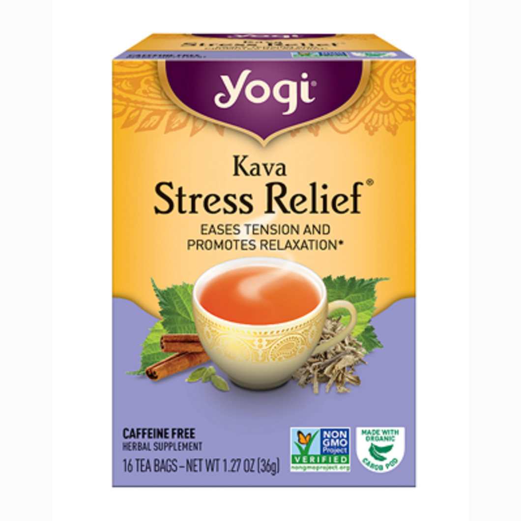 Yogi Kava Stress Relief Tea - Nutty World