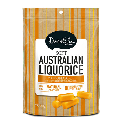 Darrell Lea Mango Licorice - Nutty World