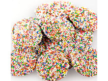 Load image into Gallery viewer, Milk Chocolate Rainbow Nonpareils - Nutty World