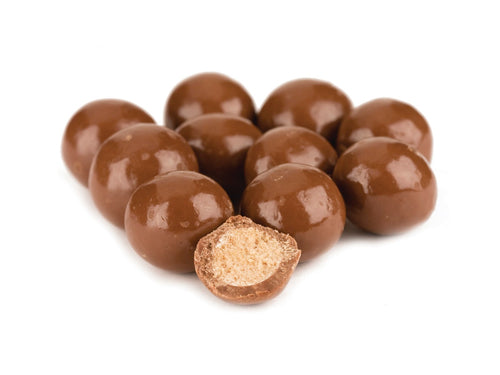 Milk Chocolate Malt Balls - Nutty World
