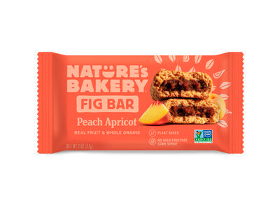Peach Apricot Whole Wheat Fig Bar - Nutty World