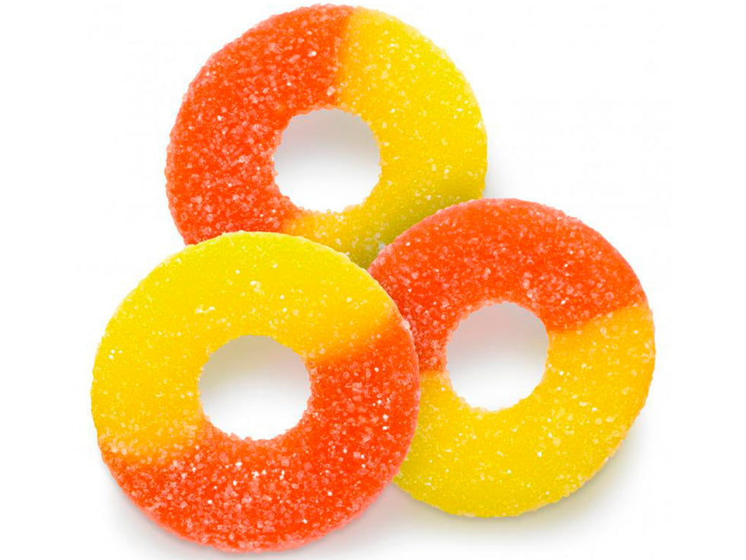 Gummy Peach Rings - Nutty World