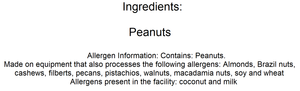 Peanuts (Roasted / Unsalted in Shell) - Nutty World