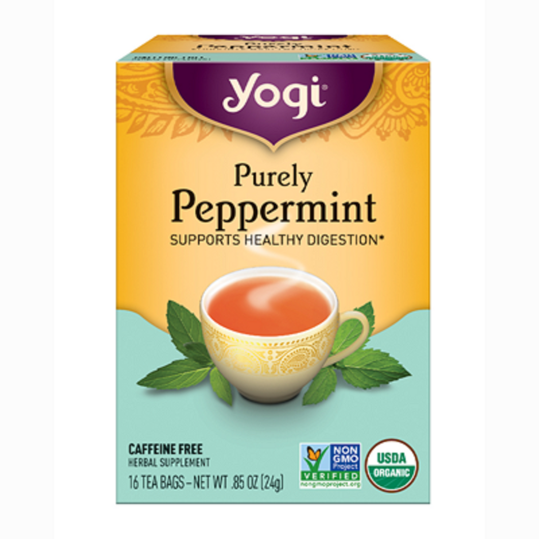 Yogi Purely Peppermint Tea - Nutty World