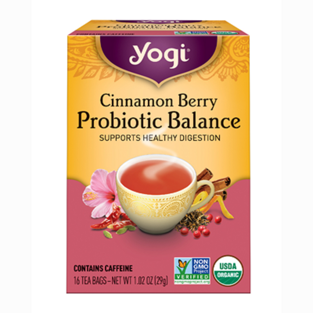 Yogi Probiotic Balance Tea - Nutty World