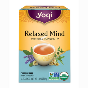 Yogi Relaxed Mind Tea - Nutty World
