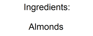 Natural Sliced Almonds - Nutty World