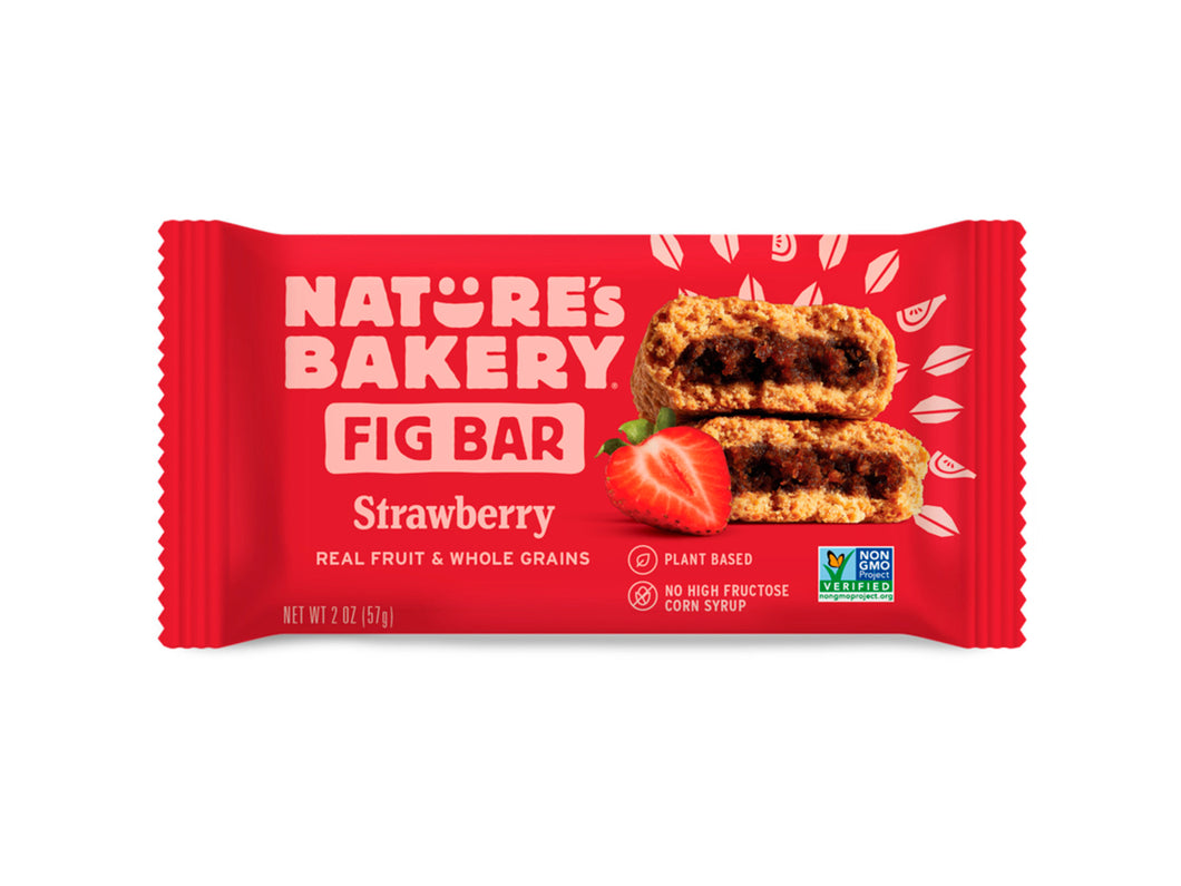 Strawberry Whole Wheat Fig Bar - Nutty World