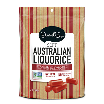Darrell Lea Strawberry Licorice - Nutty World
