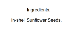 Sunflower Seeds (Roasted/Salted, with Shell) - Nutty World