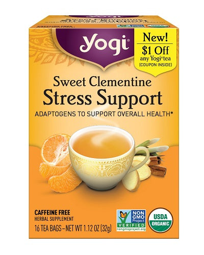 Yogi Stress Support Tea - Nutty World