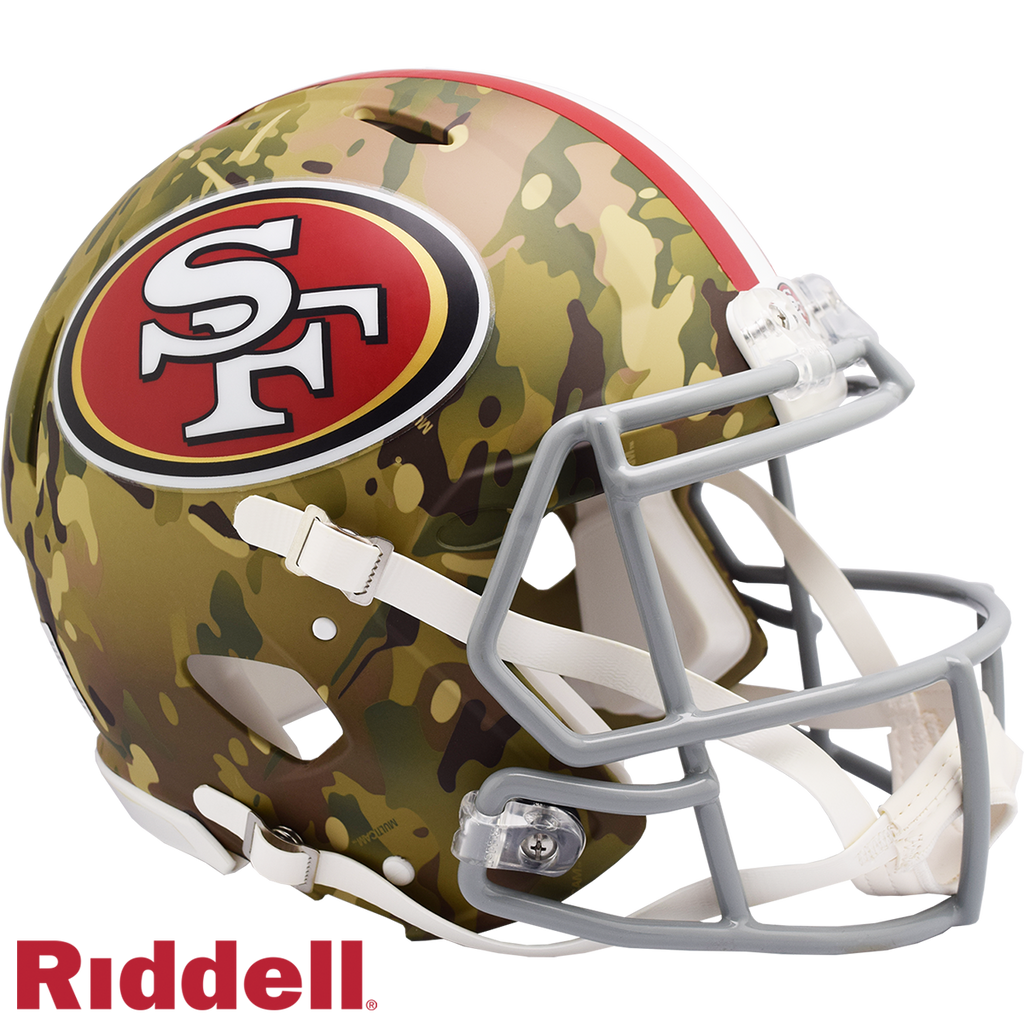 RIDDELL - CAMO SPEED AUTHENTIC HELMETS