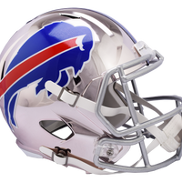 BUFFALO BILLS CHROME SPEED REPLICA HELMET