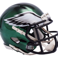 PHILADELPHIA EAGLES CHROME SPEED MINI HELMET