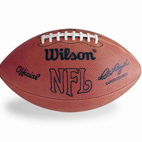 "NFL ON-FIELD FOOTBALL 1970'S ""PETE ROZELLE"" AUTHENTIC NFL GAME BALL"