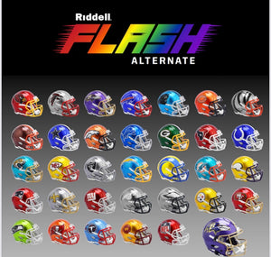 LOS ANGELES RAMS FLASH SPEEDFLEX AUTHENTIC HELMET