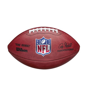 "NFL ON-FIELD FOOTBALL CURRENT ROGER GOODELL ""THE DUKE"" AUTHENTIC GAME BALL"