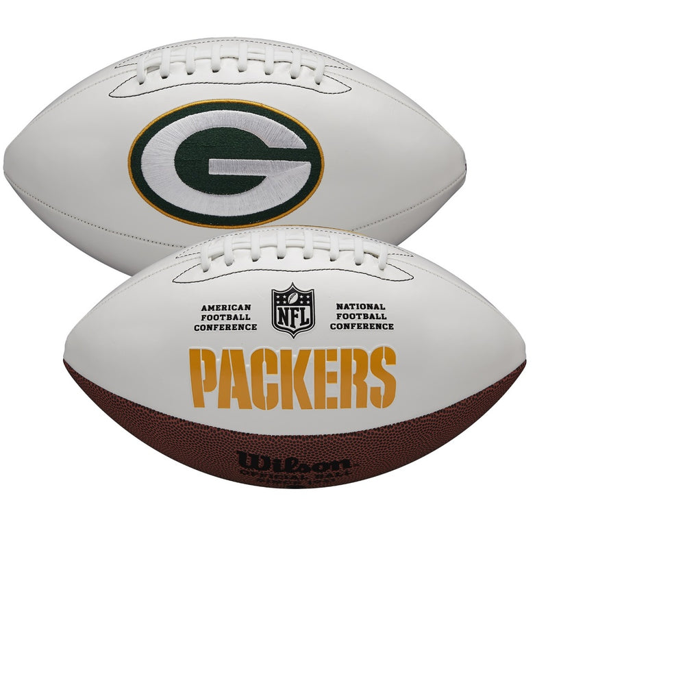 GREEN BAY PACKERS WILSON SIGNATURE SERIES FOOTBALL -34356