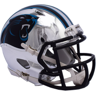 CAROLINA PANTHERS CHROME SPEED MINI HELMET