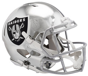 OAKLAND RAIDERS CHROME SPEED AUTHENTIC HELMET