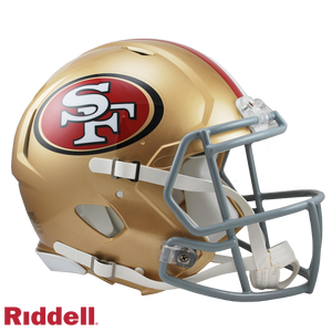 SAN FRANCISCO 49ERS CURRENT STYLE SPEED AUTHENTIC HELMET