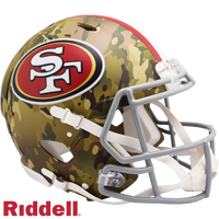 SAN FRANCISCO 49ERS CAMO SPEED AUTHENTIC HELMET