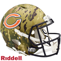 CHICAGO BEARS CAMO SPEED AUTHENTIC HELMET