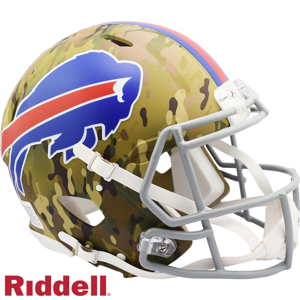 BUFFALO BILLS CAMO SPEED AUTHENTIC HELMET