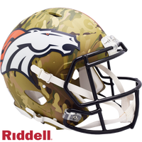 DENVER BRONCOS CAMO SPEED AUTHENTIC HELMET