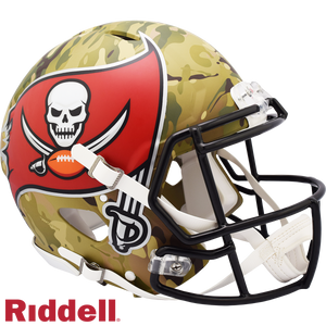 TAMPA BAY BUCCANEERS CAMO SPEED AUTHENTIC HELMET