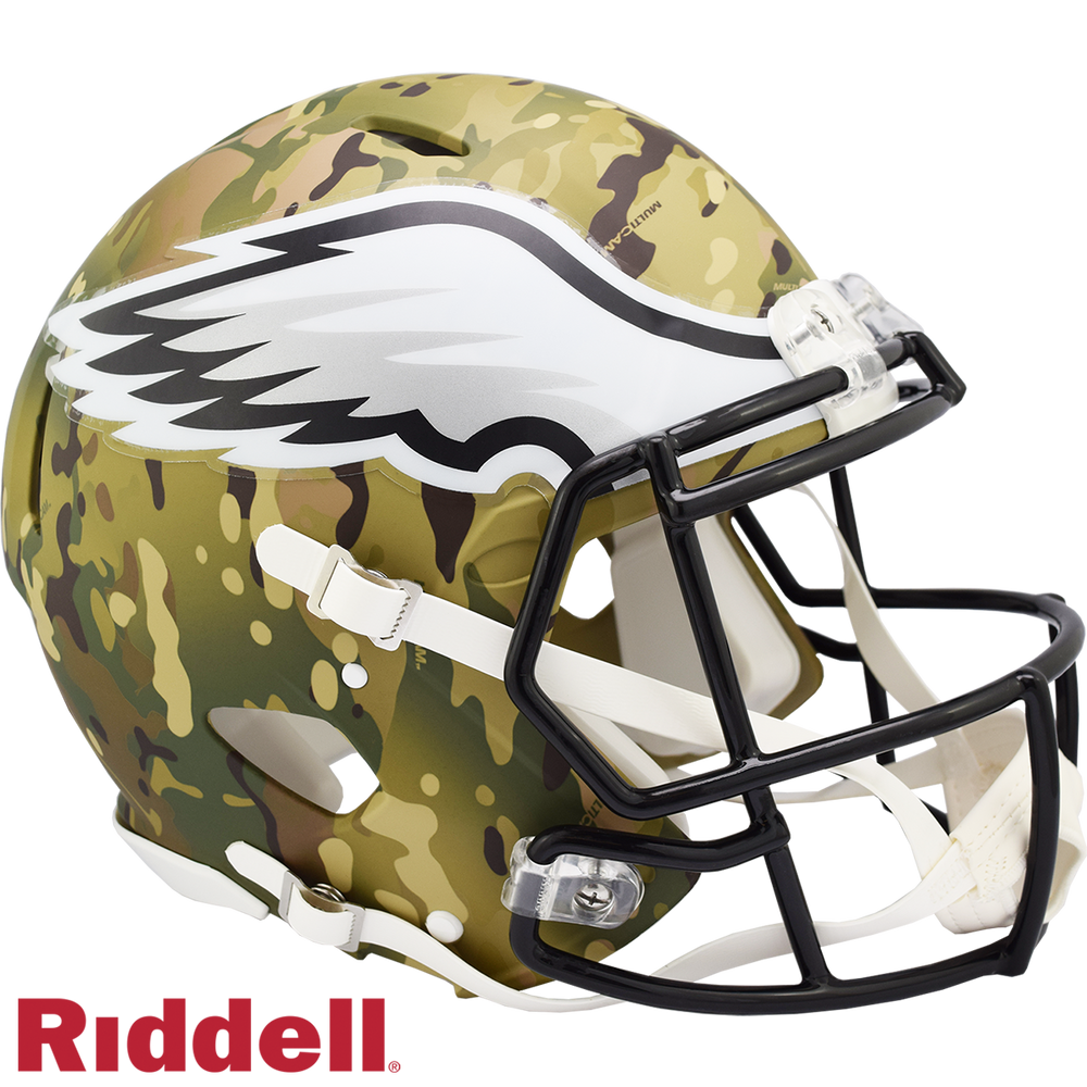 PHILADELPHIA EAGLES CAMO SPEED AUTHENTIC HELMET