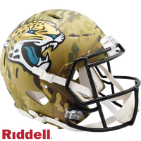JACKSONVILLE JAGUARS CAMO SPEED AUTHENTIC HELMET