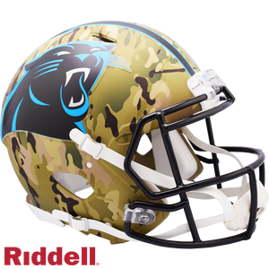 CAROLINA PANTHERS CAMO SPEED AUTHENTIC HELMET