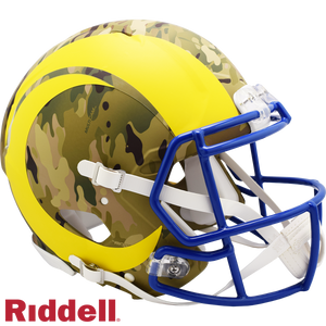 LOS ANGELES RAMS CAMO SPEED AUTHENTIC HELMET