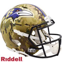 BALTIMORE RAVENS CAMO SPEED AUTHENTIC HELMET