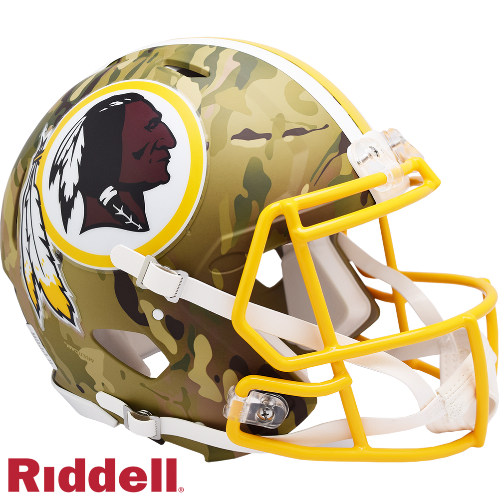 WASHINGTON REDSKINS CAMO SPEED AUTHENTIC HELMET