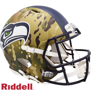 SEATTLE SEAHAWKS CAMO SPEED AUTHENTIC HELMET